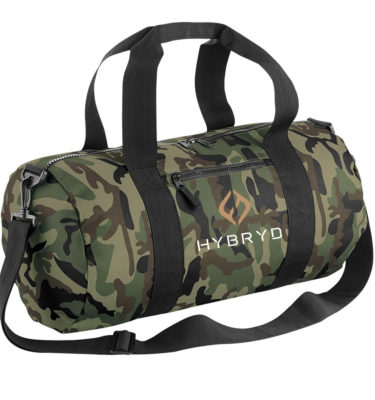 Hybryd Green Camo Bag