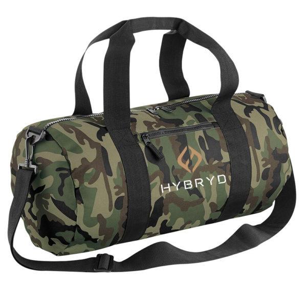 Hybryd Green Camo Bag