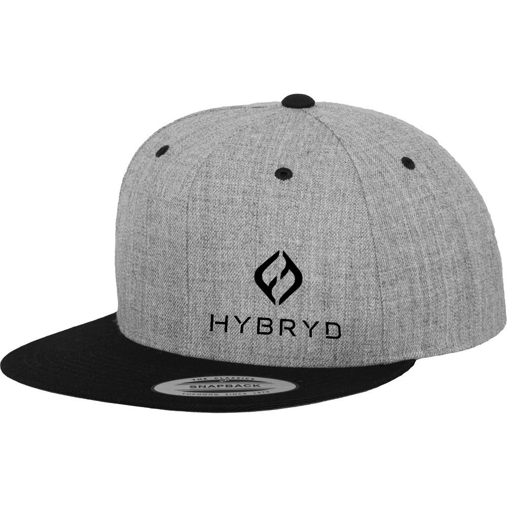 Hybryd Grey Snapback