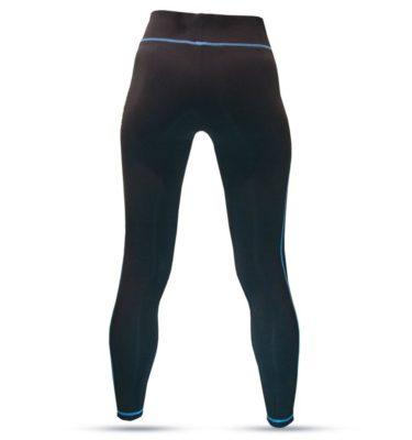 Hybryd Fitness Legging - Black/Saphire