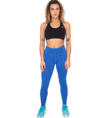 Hybryd Halo Legging - Fire Blue