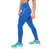 Hybryd Halo Legging - Fire Blue