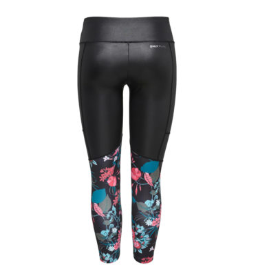 Only Play Blossom Floral Print 7/8 Training Leggings