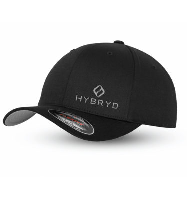 Hybryd Flexfit Baseball Cap - Black