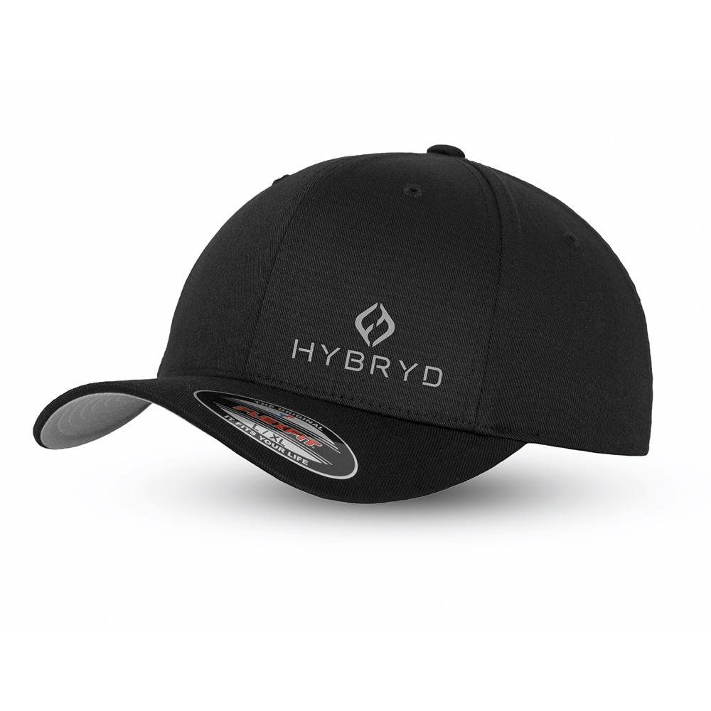 Hybryd Flexfit Baseball Cap - Black