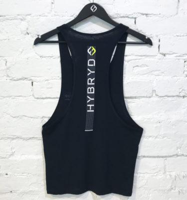 Hybryd Dot Vest - Black