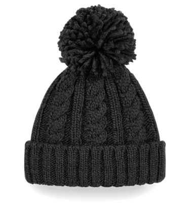HyCable Knit Beanie - Black
