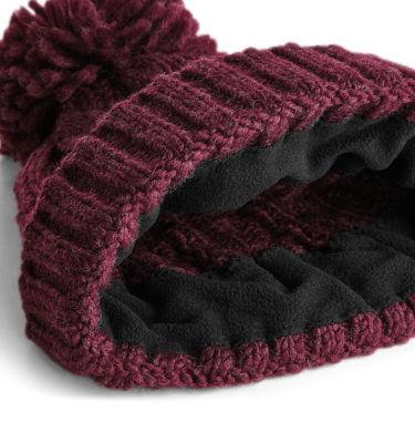 HyCable Knit Beanie - Burgundy