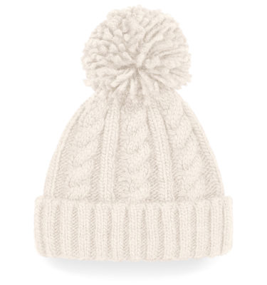 HyCable Knit Beanie - Oatmeal