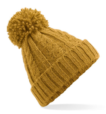 HyCable Knit Beanie - Mustard