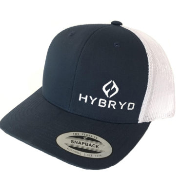 Hybryd Icon Trucker Snapback - Navy