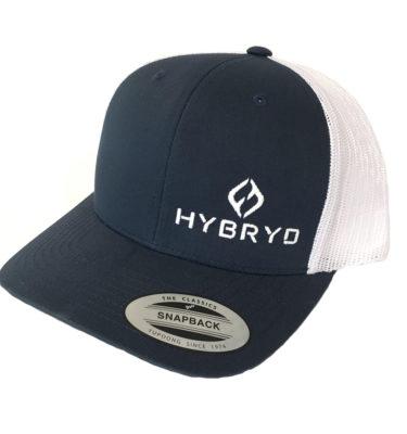 Hybryd Icon Trucker Snapback - Navy