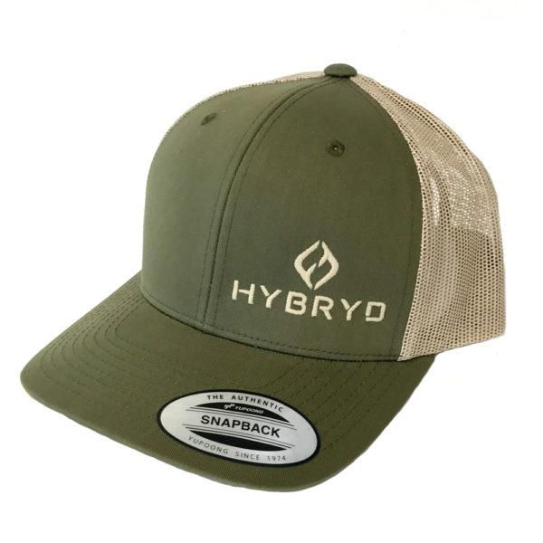 Hybryd Icon Trucker Snapback - Khaki