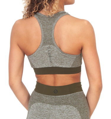 Hybryd Matrix Sports Bra - Olive
