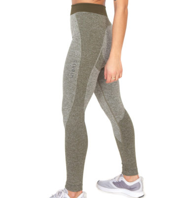 Hybryd Matrix Legging - Olive