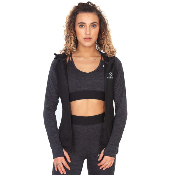 Hybryd Performance Track Top - Slate