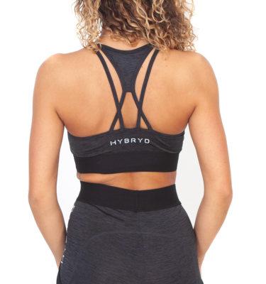 Hybryd Pulsar Sports Bra - Slate