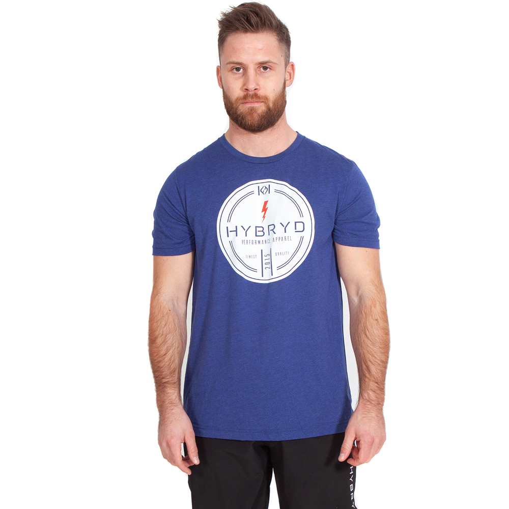 Mens Tri-blend Finest T - Navy
