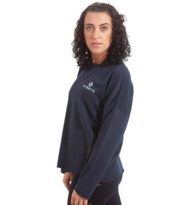 Womens Comfort Crew - Navy