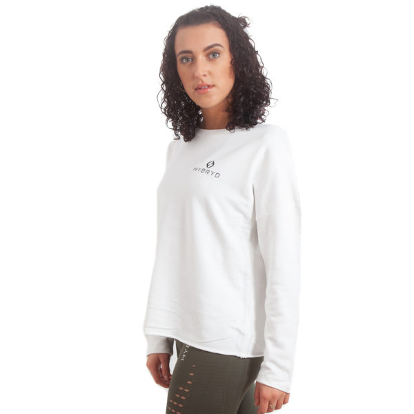 Womens Comfort Crew - Off White