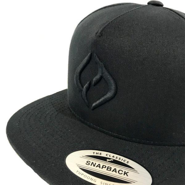 Hybryd Delta Icon Snapback - Black