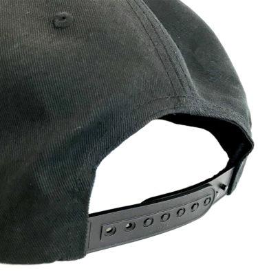 Hybryd Delta Logo Snapback - Black