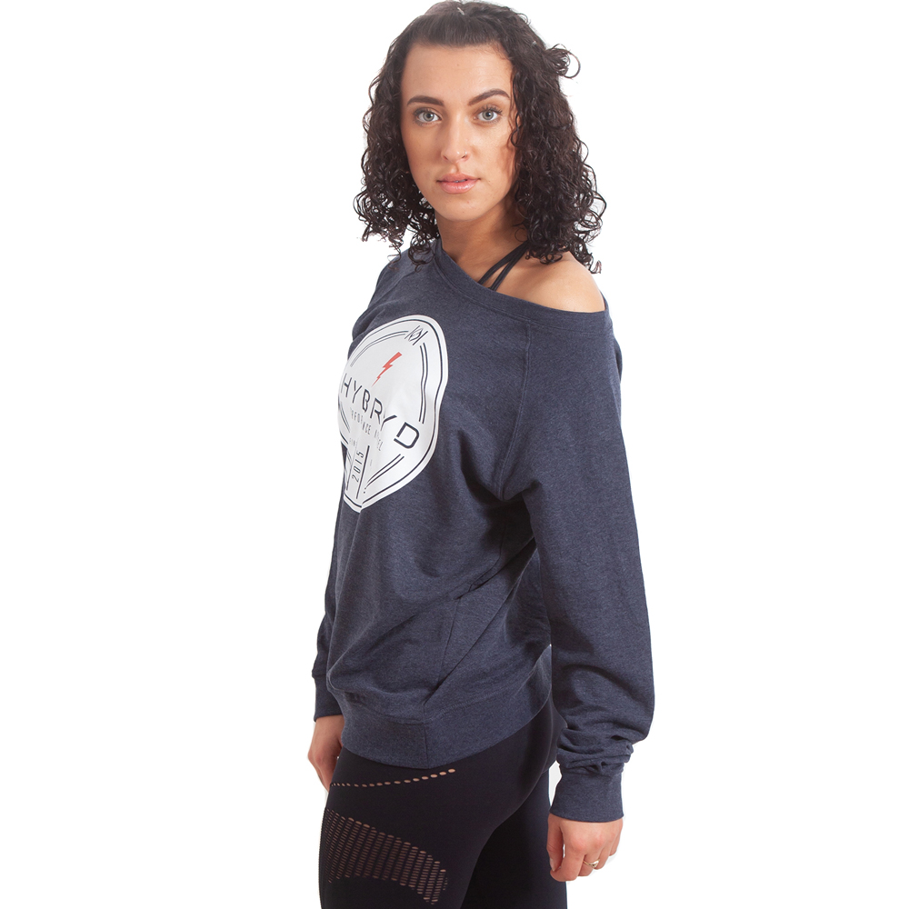 Womens Finest Crew - Navy