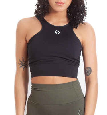 Hybryd Icon sports bra - Black