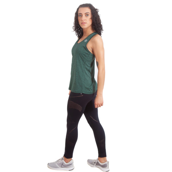 Womens Knot Vest - Forest