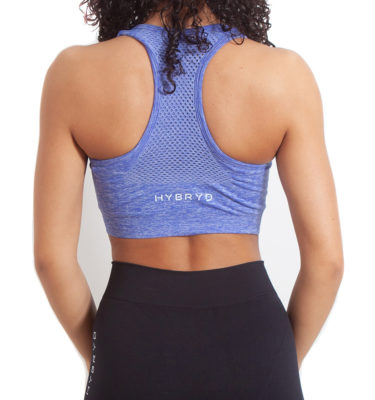 Hybryd Vibe sports bra - Cornflower