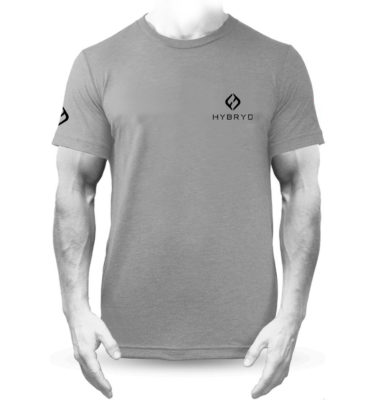 Mens Tri-blend Icon T - Grey