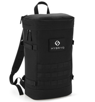 Hybryd Utility Backpack - Black