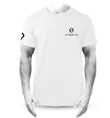 Mens Tri-blend Icon T - White