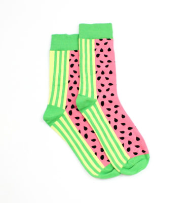 Lucky Pair Socks - Watermelon