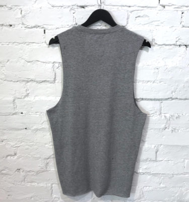 Hybryd Sleeveless Tank - Grey