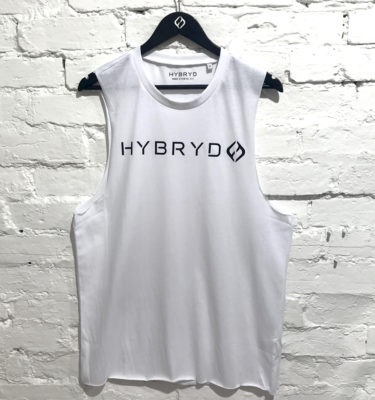 Hybryd Sleeveless Tank - White