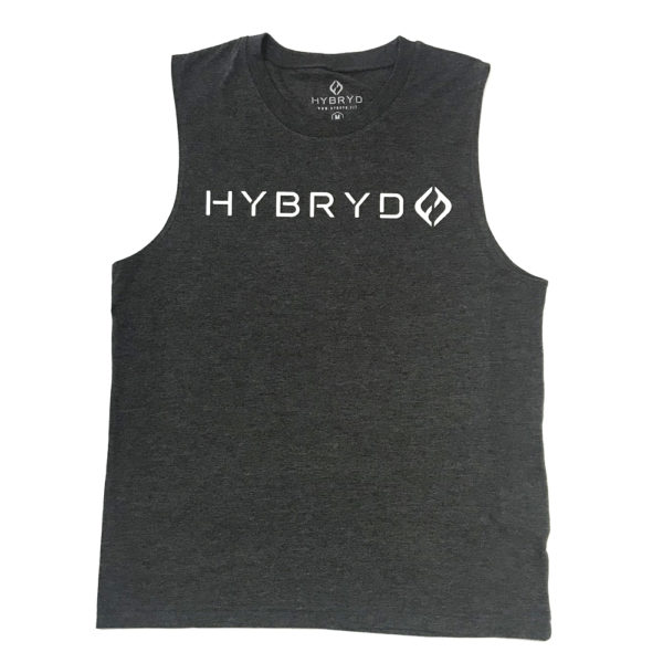 Hybryd Muscle Tank - Dark grey