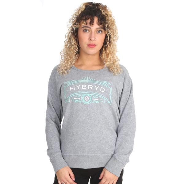 Hybryd MCB Crew - Grey