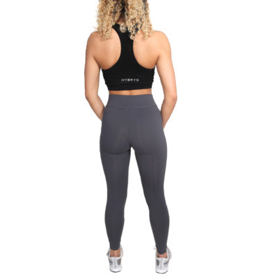Hybryd Fitness Legging - Graphite