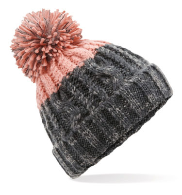 Alpine Beanie Grey/Blush