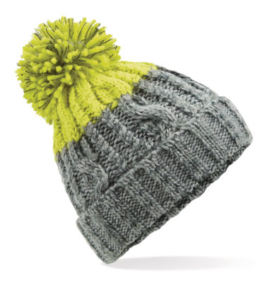 Alpine Beanie Grey/Citron