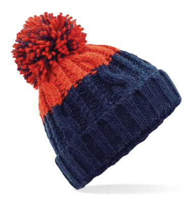 Alpine Beanie Navy/Red