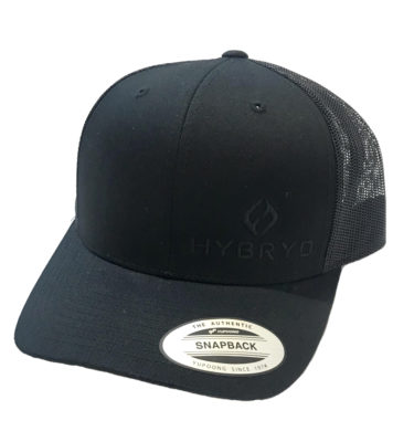 Hybryd Icon Trucker Snapback - Black