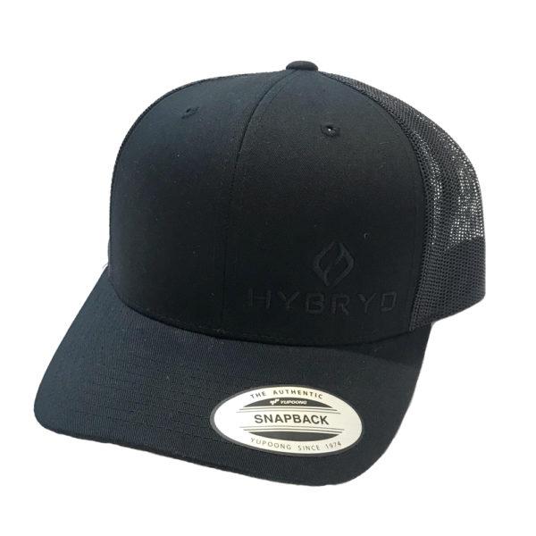 Hybryd Icon Trucker Snapback - Black