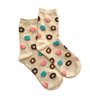 Lucky Pair Socks - Donuts