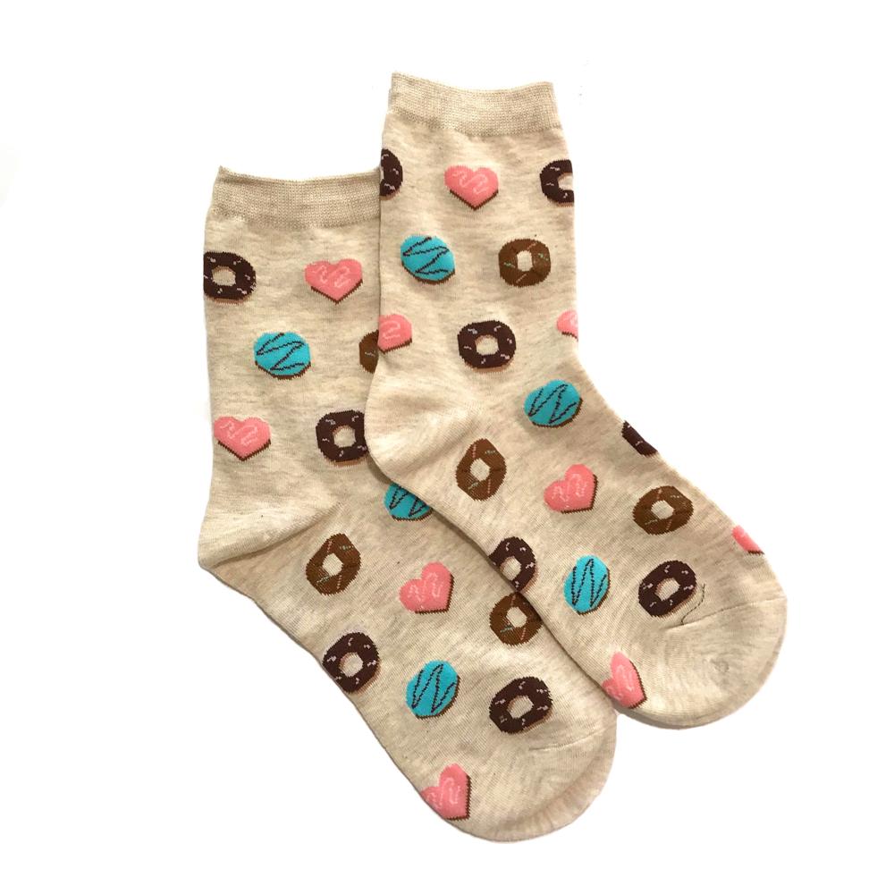 Lucky Pair Socks - Donuts