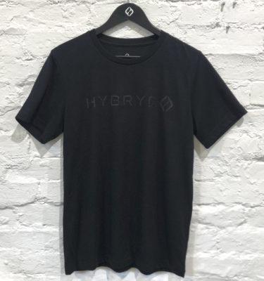 Hybryd Delta T-shirt - Black