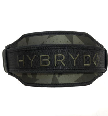 Hybryd Camo Weight Lifting Belt