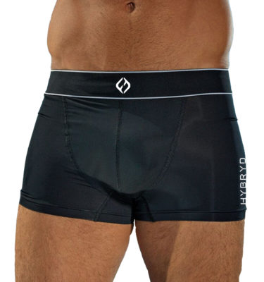 Hybryd Boxer Shorts - Black
