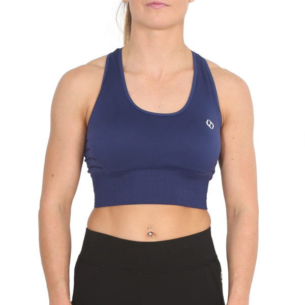 Hybryd Genex Sports Bra - Navy